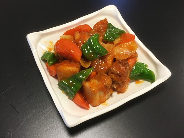 酢豚(ケチャップ風味)